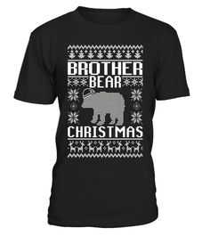 Brother Bear Ugly Christmas Sweater Matching Family T-Shirt . Special  Offer e278ec859