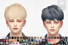 Silent Night: May Hair 288M recolor  - Sims 4 Hairs - http://sims4hairs.com/silent-night-may-hair-288m-recolor/