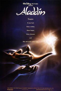 Disney's Aladdin original movie poster