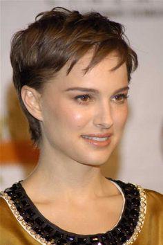 Natalie Portman - short hair
