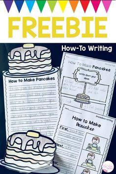 Kindergarten Writing Activities, First Grade Activities, Free Activities, Teaching Writing, Learning Activities, Teaching Ideas, Fourth Grade Writing, Second Grade Writing Prompts, 1st Grade Writing Worksheets