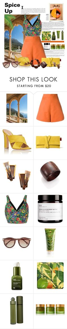 """""""Untitled #392"""" by riuk ❤ liked on Polyvore featuring Brewster Home Fashions, Andrea Marques, Gianvito Rossi, Renoir, Nest, 3.1 Phillip Lim, RAHUA, Origins, Jo Malone and Perry Ellis"""