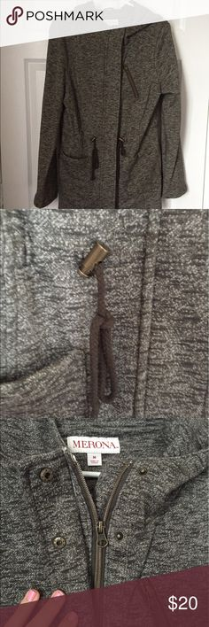 Winter Coat Only worn once. Very warm and soft. Has a hood. Merona Jackets & Coats