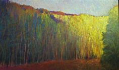 BRIGHT FLOW  oil on canvas, 36 x 60  sold