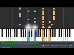 Coldplay - The Scientist - Adrian Lee Version (piano tutorial with sheet music)