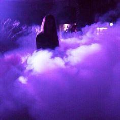 Image de purple, smoke, and aesthetic