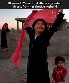 My heart breaks for all of the little girls in islam