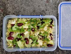 Zdrowa Kuchnia Sowy: Bento, czyli pudełko z posiłkiem do pracy Bento, Plant Based Recipes, Guacamole, Potato Salad, Healthy Recipes, Healthy Food, Lunch Box, Food And Drink, Health Fitness