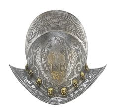 A Fine German Comb Morion  Late 16th Century
