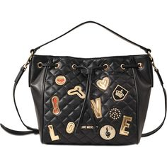 Love Moschino love patch tote Get Authentic Sale Online 9GbrCy