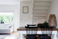 Captivating Dining Space: Under Stairs Nook