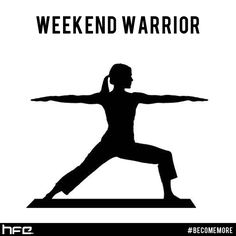 FitnessFriday Be A Warrior Not Worrier Yoga Yogi Pose