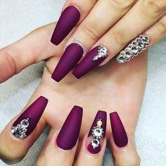 nail designs for long nails - Google Search