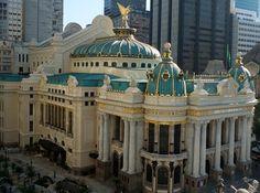 Theatro Municipal do Rio de Janeiro.