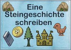 Eine Steingeschichte schreiben | Lehrermarktplatz Comics, Author, Teacher Worksheets, Small Groups, 2nd Grades, Narrative Poetry, Pictorial Maps, Teaching Materials, Primary School