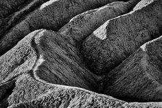 Zabriskie Point Badlands - Death Valley - photo by Stuart Litoff