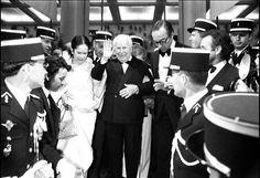 Charles CHAPLIN Festival de Cannes 24e 1971
