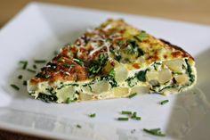 spinach and potato frittata by Cascadian Farm, via Flickr