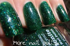 Picture Polish Kryptonite by More Nail Polish ~ More Nail Polish