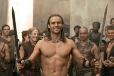Dustin Clare; Spartacus: Gods of the Arena
