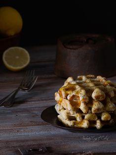 Lemon Ricotta Waffles (Gofres de Limón y Ricotta)