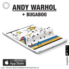 It's here! The 'So Many Stars' ipad app for kids by Andy Warhol + Bugaboo. Curious? #somanystars #warhol #bugaboo.{Bugaboo-PuNCKsVD}