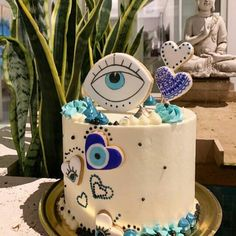 Birthday Balloon Decorations, Birthday Cake Decorating, Cookie Decorating, Fancy Cakes, Mini Cakes, Marshmallow Pops, Buttercream Cake, Pretty Cakes, Cakes And More