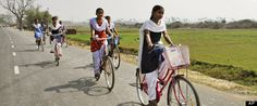 RAMPUR SINGHARA, India -- The daily trip to high school was expensive, long and eventually, too much for Indian teenager Nahid Farzana, who decided she was going to drop out. Then, the state government gave her a bicycle.    Two years later, she is about to graduate from high school and wants to be a teacher.
