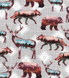 null Abc Chart, Kinds Of Vegetables, Joanns Fabric And Crafts, Moose Art, Cotton Fabric, Landscape, Animals, Scenery, Animales