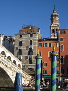 Venezia, vicino al Ponte di Rialto