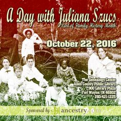 A Day with Juliana Szucs. Sponsored by ancestry.com.