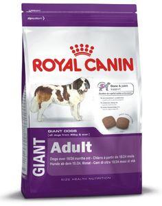 Royal Canin 35245 Giant Adult 4 kg - Hundefutter Royal Canin http://www.amazon.de/dp/B001N02IP6/?m=AMWB9IWQTFGZU