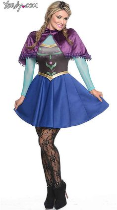 Sexy  Frozen  Halloween Costumes Are Here  sc 1 st  Pinterest & 45 Anna and Elsa Costume Ideas For a Frozen Halloween | Frozen ...