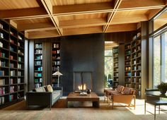 Three pavilions form Wasatch House by Olson Kundig in Utah