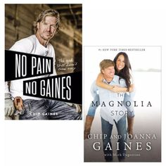 Get these two popular books (No Pain, No Gaines: The Good Stuff Doesn't Come Easy/The Magnolia Story) by Chip & Joanna Gaines for only $15.28 (reg. 28.28) at Sam's Club. You save 46% off the retail price for these best selling books. Plus, this item ships free for Plus members. Deal expires May 27, 2021. Chip Gaines, Chip And Joanna Gaines, The Magnolia Story, Even When It Hurts, Online Shopping Deals, Famous Words, This Is A Book, Human Connection, Popular Books