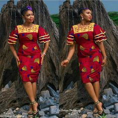 The collection of Beautiful Ankara Pattern Styles For Ladies you've ever wanted to see. Want to style and pattern your African print ankara Latest African Fashion Dresses, African Dresses For Women, African Print Dresses, African Attire, African Wear, African Style, African Outfits, African Prints, Ankara Fashion