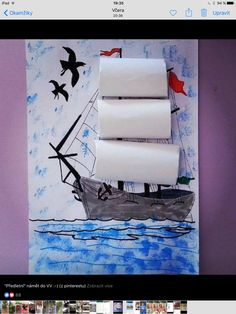Crafts,Actvities and Worksheets for Preschool,Toddler and Kindergarten.Lots of worksheets and coloring pages. Pirate Ship Craft, Pirate Crafts, Pirate Art, Projects For Kids, Art Projects, Crafts For Kids, Arts And Crafts, Drawing For Kids, Art For Kids