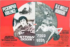 El Alimento De Los Dioses (The Food of the Gods) (Soudain Les Monstres) (O Alimento dos Deuses) (Die Insel der Ungeheuer) (Bert I. Horror Posters, Cinema Posters, Quad, Susan George, Visual Puns, Hooray For Hollywood, Classic Monsters, Marvel, Original Movie Posters