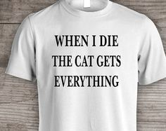 Cat lover t-shirt Crazy cat lady, Christmas gift ideas, funny t-shirt Holiday gift under 25 womens clothing gift for her gift for him- a115