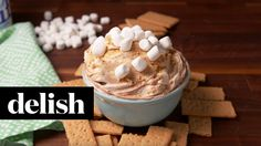 Fluffy S'Mores Dip | Delish