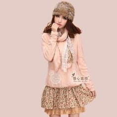 Buy 'Kaven Dream – Set : Knit Top  Floral Dress   Scarf' with Free International Shipping at YesStyle.com. Browse and shop for thousands of Asian fashion items from China and more!