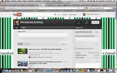 Canal da RP e Consultoria Comunicacional no YouTube.