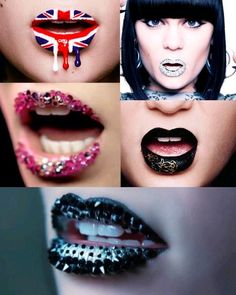 Jessie J and the lips <3