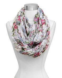 Jeanne Infinity Scarf in Spring on Emma Stine Limited