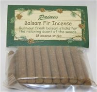 Balsam Fir Products & Incense
