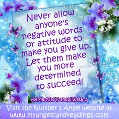 There's over 300 positivity quotes here ➡ http://www.myangelcardreadings.com/positivequotes1