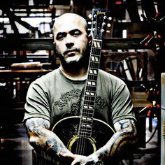 Aaron Lewis (Staind). Seriously love this guy. His stage presence is unreal.