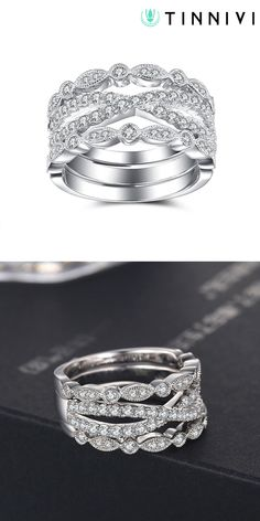 Shop ❤️Round Cut White Sapphire 925 Sterling Silver Women's Wedding Bands❤️online️, Tinnivi creates quality fine jewelry at gorgeous prices. Shop now! Womens Wedding Bands, Wedding Bride, Wedding Anniversary Rings, Wedding Rings, Jewelry Gifts, Fine Jewelry, White Sapphire, Jewelry Design, Engagement Rings