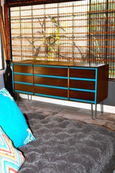 Another mid century dresser refurbished!