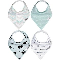 Baby Bandana Drool Bibs 4 Pack Gift Set For Boys Archer Set by Copper Pearl >>> You can find out more details at the link of the image. Bandanas, Baby Pearls, Unique Baby Gifts, Gifts For New Parents, Bandana Bib, Baby Gift Sets, Stylish Baby, Traveling With Baby, Baby Store